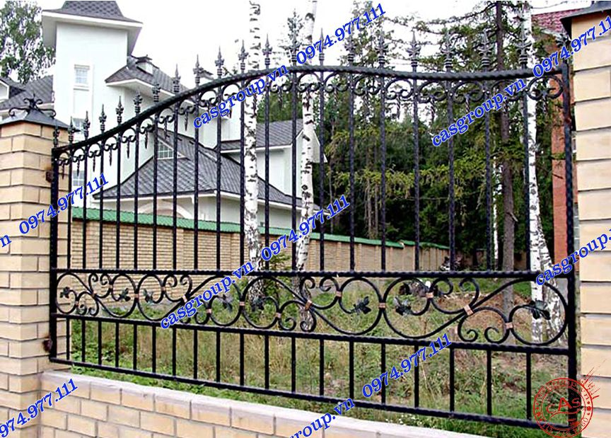 Sample fence fence TP HCM